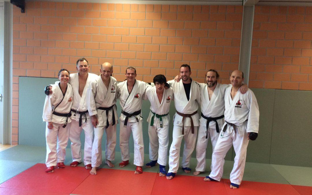 Kaderweekend Kerenzerberg 2019: Ju-Jitsu Kampftraining – Gasttrainer: Stefano Pescheta, 1. Dan Ju-Jitsu (JJCW)